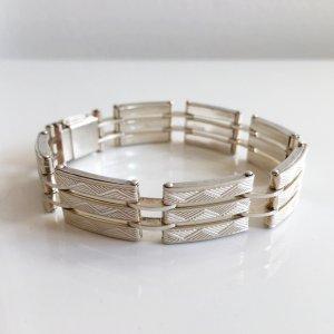 Antik Silber Armband 835 Silber 60er Jahre 60ies Boho Silberarmband Gliederarmband