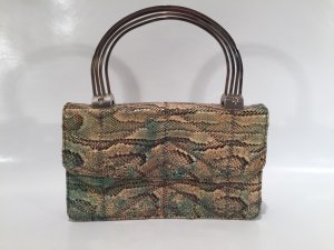 Antike Handtasche aus Schlangenleder