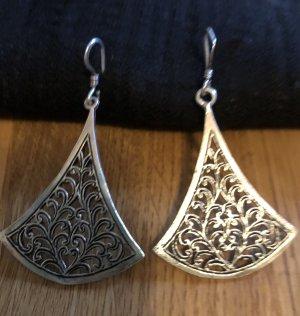 Antike marokkanische Ohrringe aus Silber