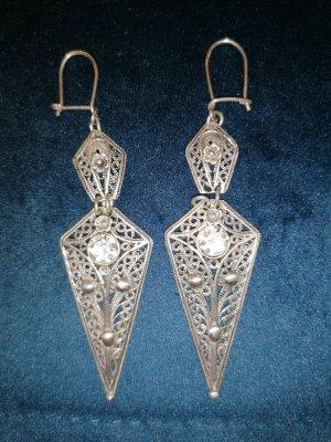 Antikes Silber Ohrringe 925 Silber