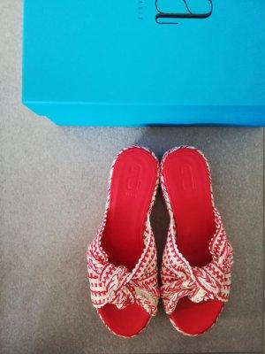 Antolina Paris Bella Slide Marfil/Rojo
