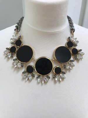 Anton Heunis Statement Necklace black-gold-colored