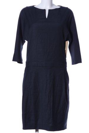 Antonelli Firenze Sukienka z długim rękawem niebieski-w kolorze białej wełny