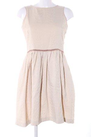 Antonello Serio A-Linien Kleid creme Business-Look