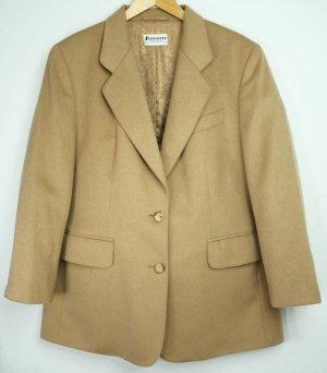 Antonette Franz Haushofer Damen Blazer Gr. 44 D Jacket Damenjacke 100% Baby Camelhaar