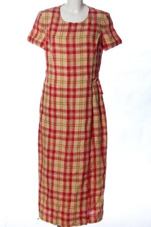Antonette - Franz Haushofer Sukienka z krótkim rękawem czerwony-bladożółty