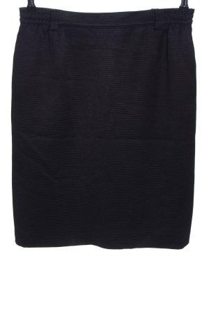 Antonette - Franz Haushofer Miniskirt black striped pattern business style