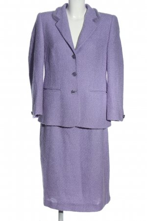 Antonette - Franz Haushofer Knitted Twin Set lilac casual look
