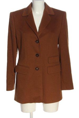 Antonette - Franz Haushofer Cappotto in lana marrone stile casual