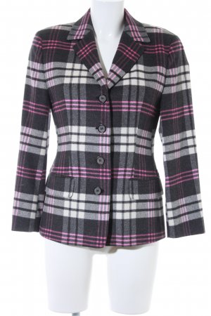 Antonette - Franz Haushofer Manteau en laine motif à carreaux