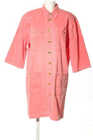 """antonette Jeansowa sukienka """"W-baknzx"""" różowy"""
