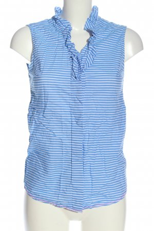 Antoni & Alison Shirt Blouse blue-white striped pattern casual look