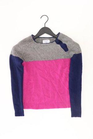 Wełniany sweter jasny różowy-różowy-różowy-różowy neonowy Wełna