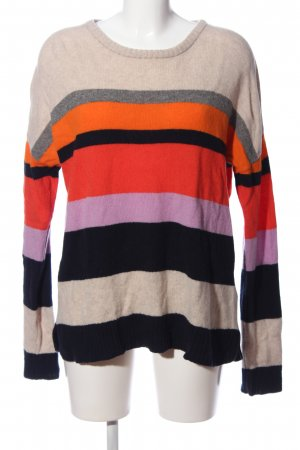 Antoni & Alison Cable Sweater striped pattern casual look