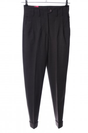 Antonio Fusco Pantalon de costume noir style d'affaires