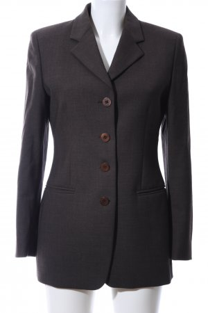 Antonio Fusco Long-Blazer braun Business-Look
