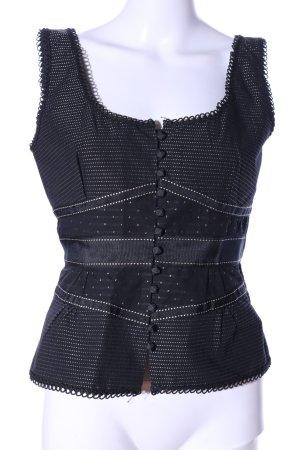 Antonio Melani Blouse topje zwart casual uitstraling