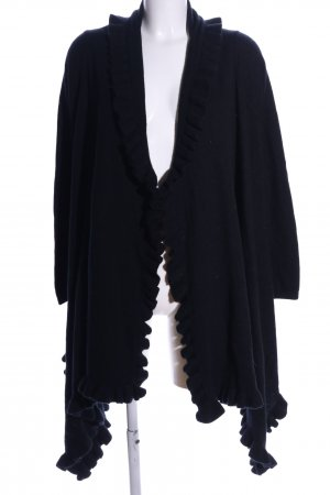 Antonio Melani Strick Cardigan schwarz Casual-Look