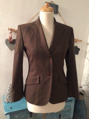 Antonio Fusco Blazer in lana marrone