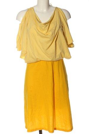 anukoo Robe courte jaune primevère-orange clair style décontracté