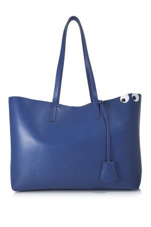 Anya hindmarch Sac fourre-tout bleu cuir