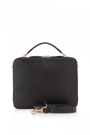 Anya Hindmarch Leather The Stack Double Satchel