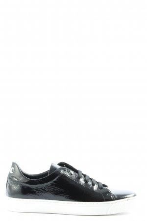 Anya hindmarch Lace-Up Sneaker black casual look