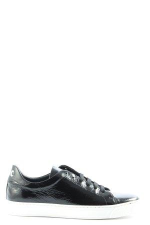 Anya hindmarch Sneakers met veters zwart casual uitstraling