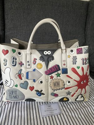 Anya hindmarch Shopper multicolored leather