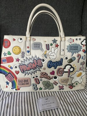 Anya Hindmarch Shopper Ebury Maxi Featherweight All Over Stickers❤️