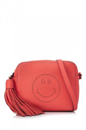 Anya hindmarch Crossbody bag orange leather