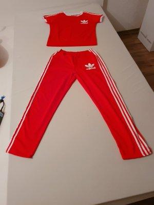Pantalone da abito rosso Tessuto misto