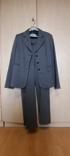 Mexx Ladies' Suit anthracite-light grey polyester