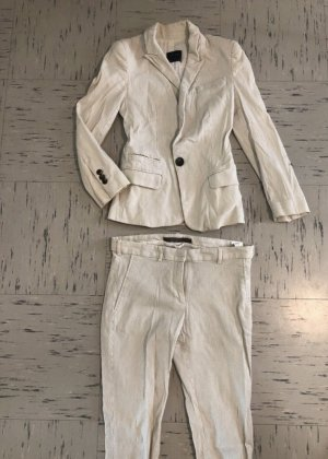 Zara Business Suit natural white-cream
