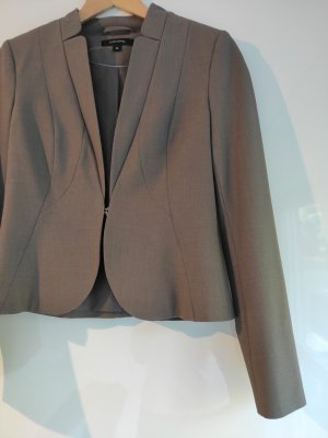 Comma Zakelijk pak grijs-bruin