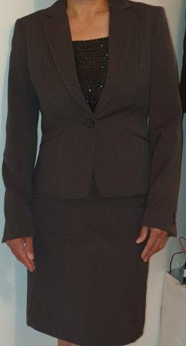 H&M Blazer de esmoquin gris oscuro