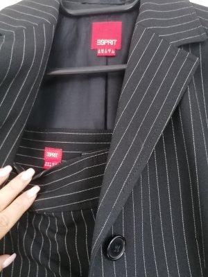 Esprit Zakelijk pak wit-zwart