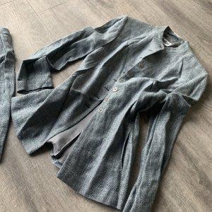 Anzug Blazer + Rock in grau von OuiSet Gr. S