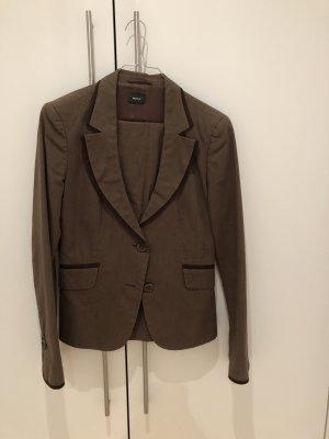 Mexx Traje de negocios marrón claro-marrón oscuro