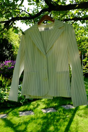 Biaggini Pinstripe Suit multicolored polyester