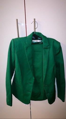 Mango Trouser Suit dark green