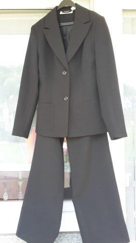 Anzug Gr.34 Schwarz Damen