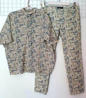 Max Mara Trouser Suit multicolored cotton