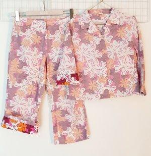 Closed Tailleur pantalone multicolore Cotone