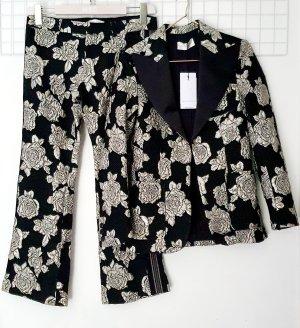 Faith connexion Tailleur pantalone nero-argento Poliestere