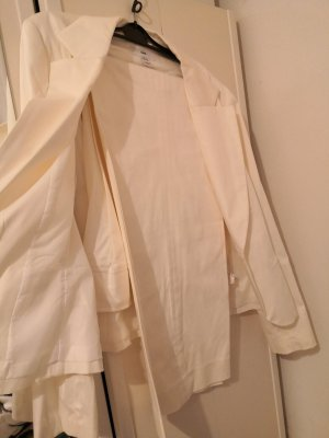 H&M Trouser Suit natural white cotton