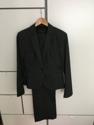 Jake*s Trouser Suit dark grey-anthracite mixture fibre