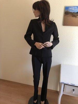 Anzug Mango schwarz 34-36