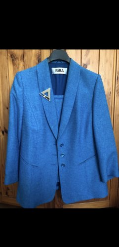 Biba Business Suit neon blue-blue