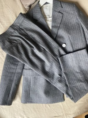 Sandro Trouser Suit grey-white